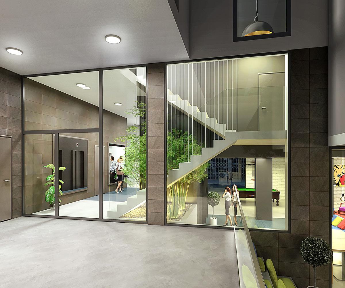 recibidor terrassa piso de alquiler
