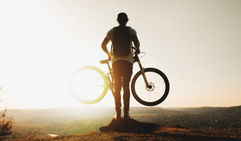 rutas en bici cerca de becorp sant just