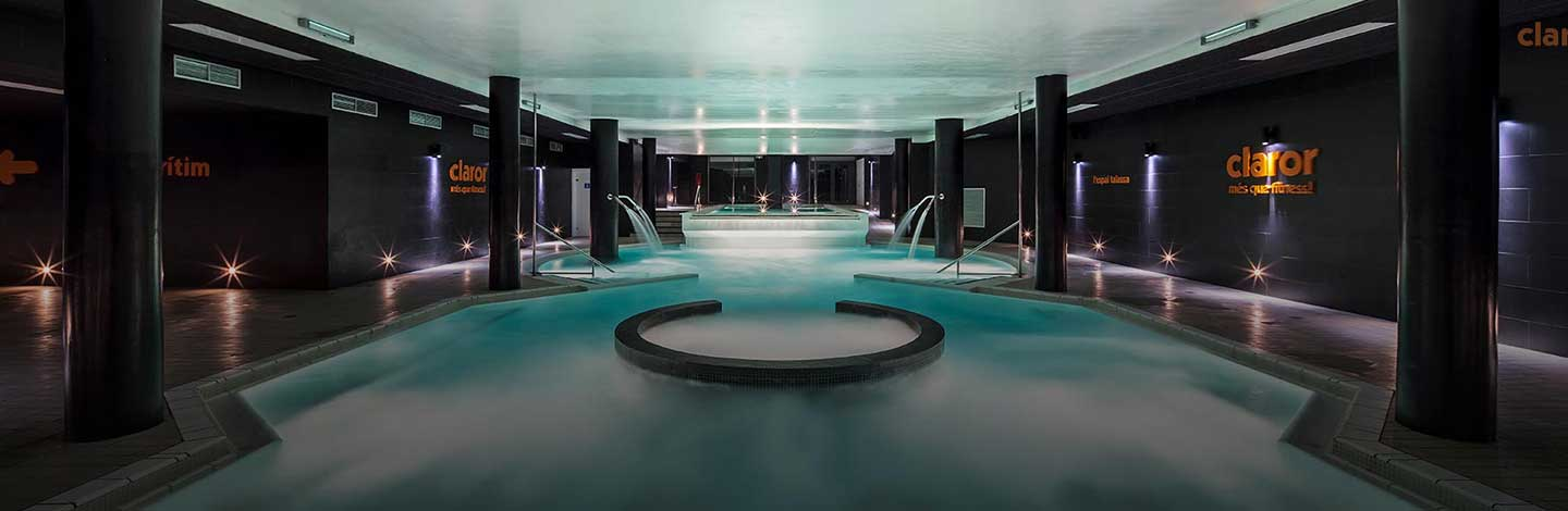 Wellness moment at the Barcelona Maritime Spa