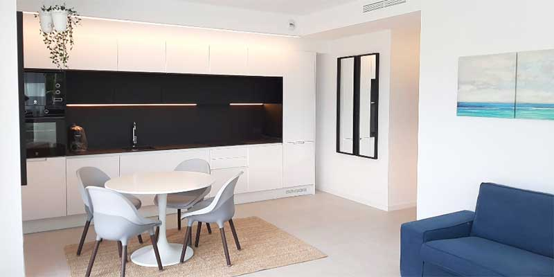 rental apartment living room