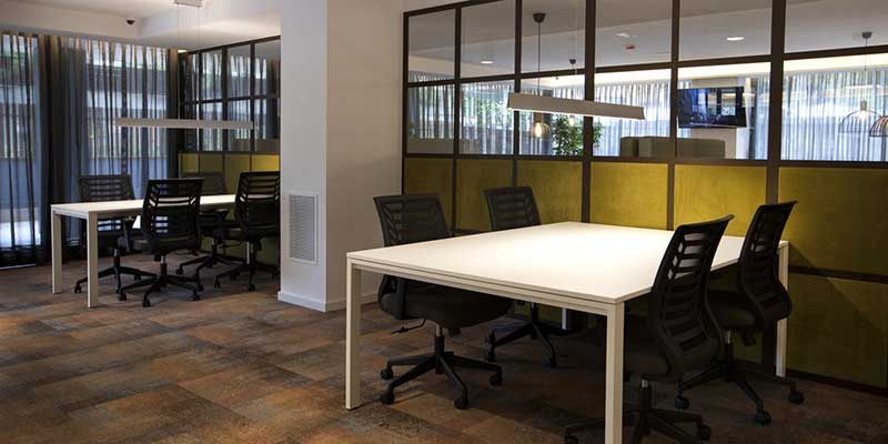 rental apartments with coworking