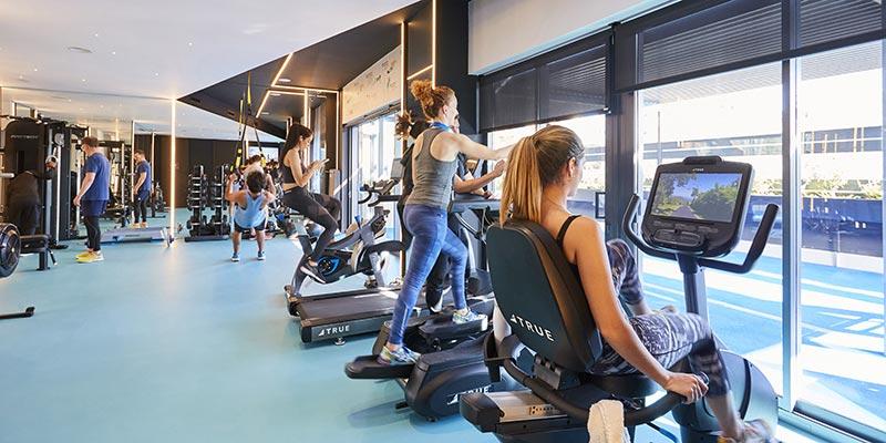gimnasio en pisos de alquiler becorp