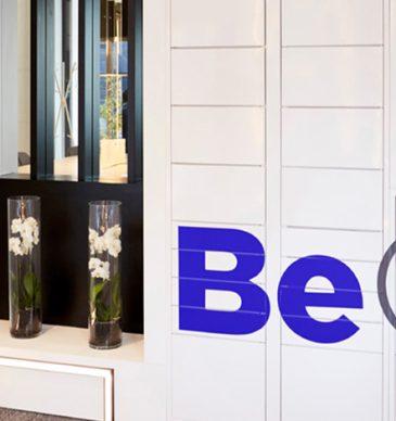 Rental apartments with smart locker