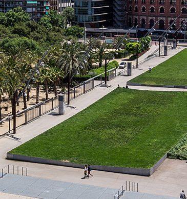 Arte en el Parque Joan Miró