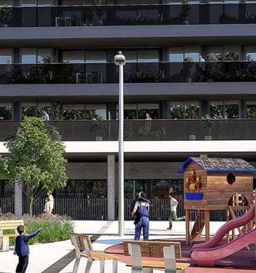 Pisos de lloguer a Terrassa amb 404 m2 d'espais comuns