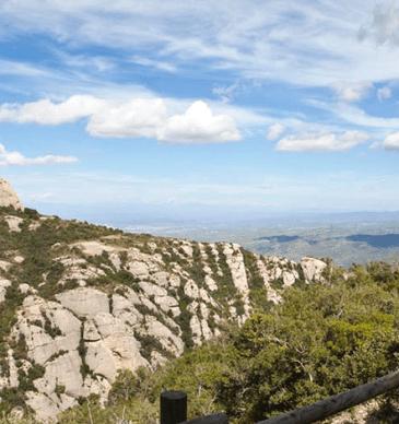 5 routes to discover Montserrat