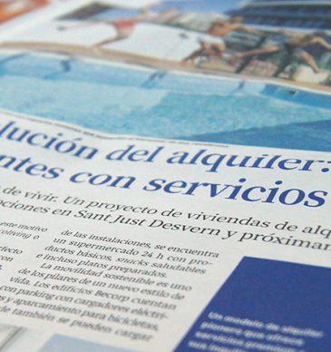El Magazine de La Vanguardia habla de los pisos de alquiler Becorp