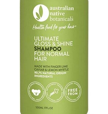 Australian Native Botanicals Ultimate Gloss & Shine Shampoo for Normal Hair