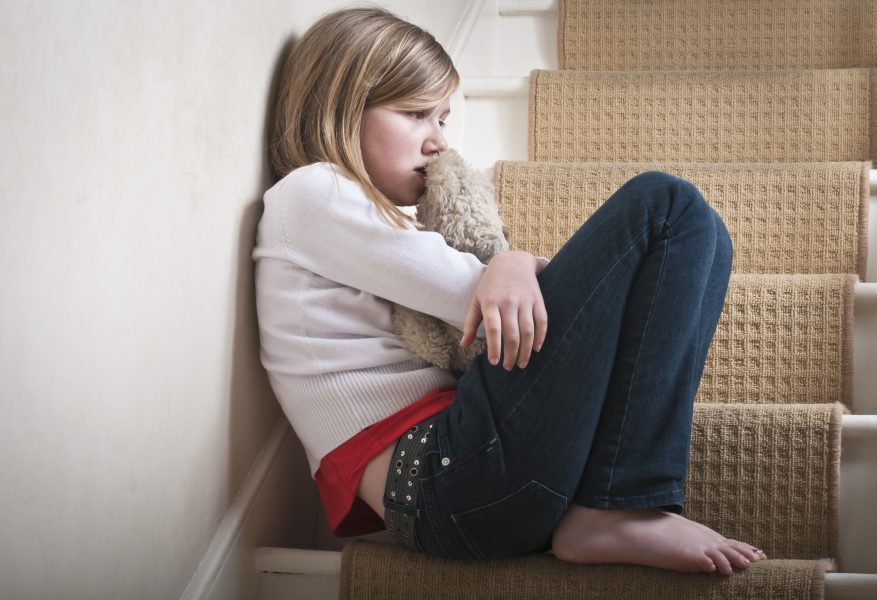 How does stress affect a child?