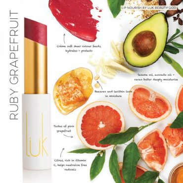 Luk Lip Nourish - Ruby Grapefruit
