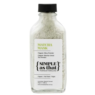 Children Love Health Simple as That's Matcha Mask