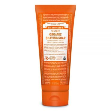 Dr. Bronner's Organic Shaving Soap - Tea Tree