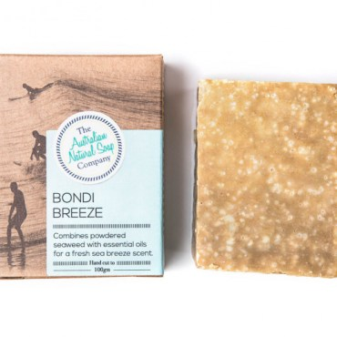 The ANSC Solid Soap Bondi Breeze Soap