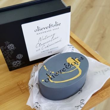 olieve & olie Hand Made Limited Edition Soap Bar