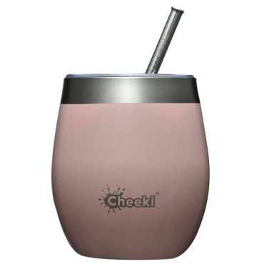 Cheeki Insulated Wine Tumbler 220ml - Champagne Pink