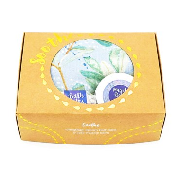 WheatBags Love Soothe Gift Pack ~ Banksia Sky