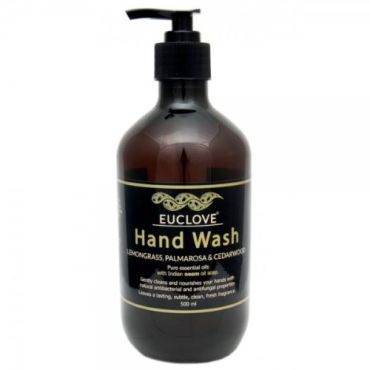 Euclove Hand Wash Lemongrass, Palmarosa and Himalayan Cedarwood 500 ml