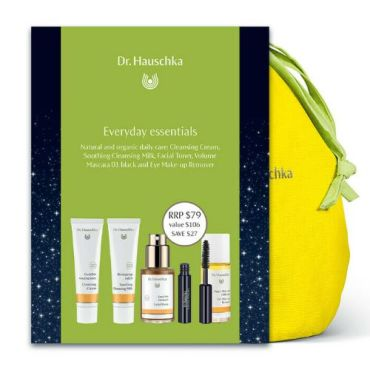 Dr. Hauschka Christmas Set Everyday Essentials Make-Up Bag