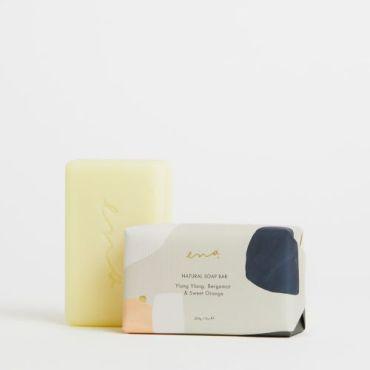 Ena Natural Soap Bar - Ylang Ylang, Bergamot & Sweet Orange 200gm