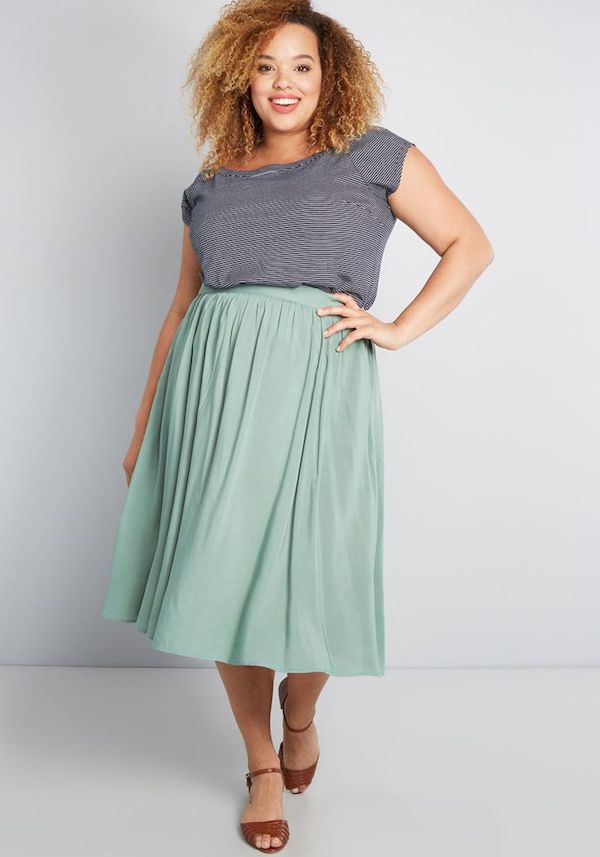 UNRULY   Plus-Size Spring Skirts Your Closet Needs Right Now