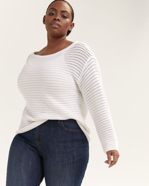 UNRULY | The Cutest Plus-Size Spring Sweaters