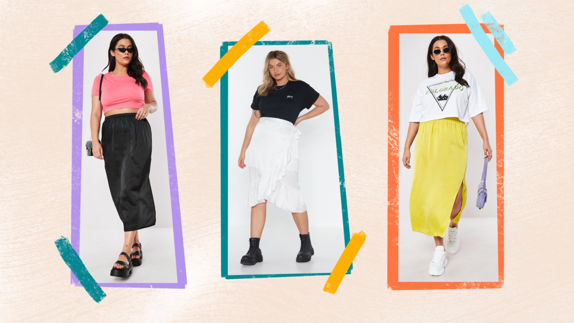 UNRULY | Plus-Size Satin Skirts That Are Basically as Sexy as Slip Dresses