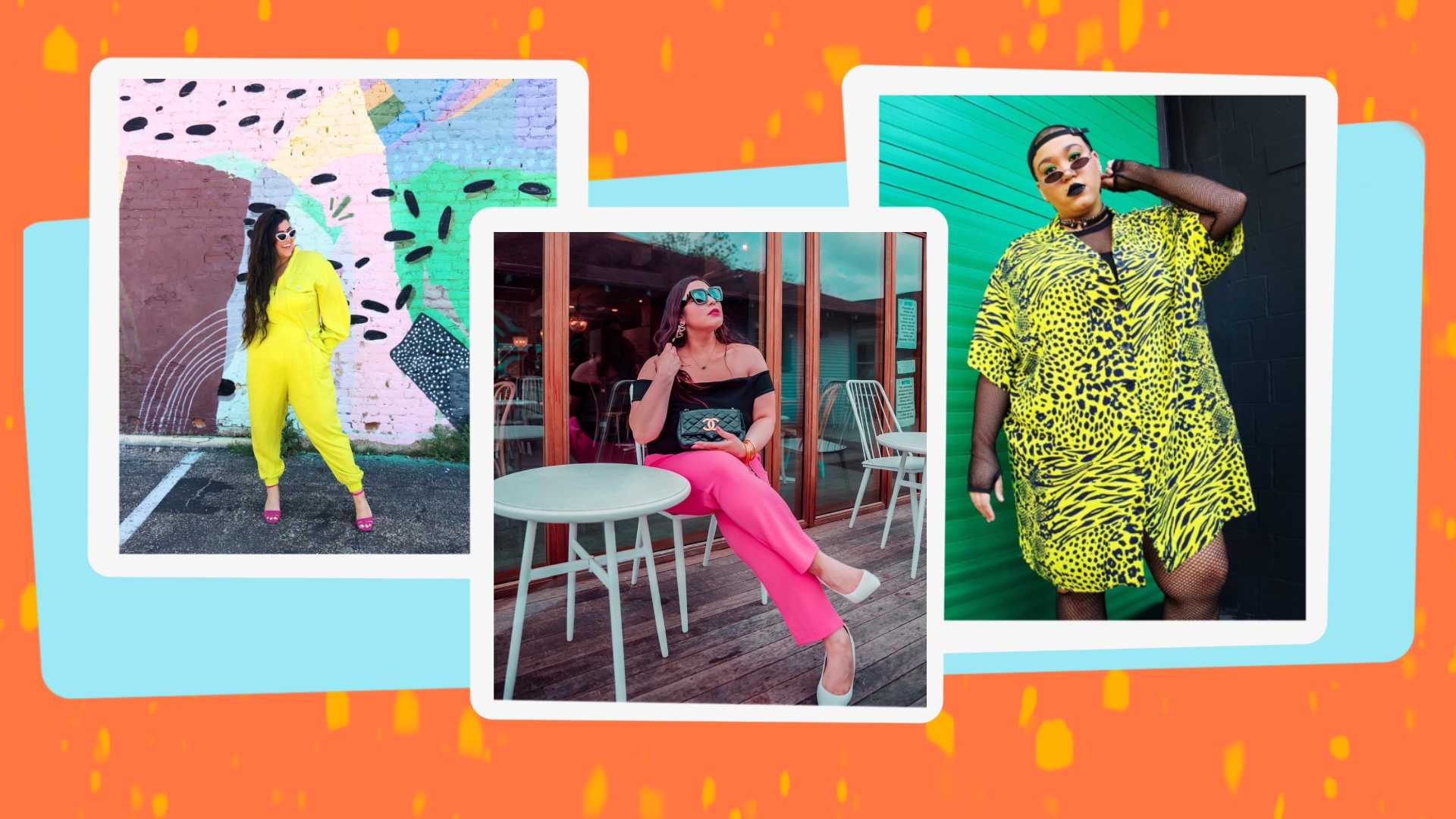 Neon Clothes Street Style