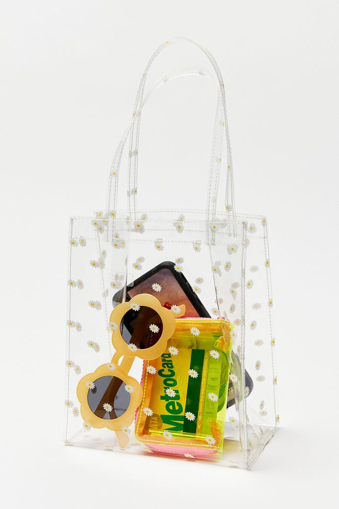 Clear Bag with Sunglasses