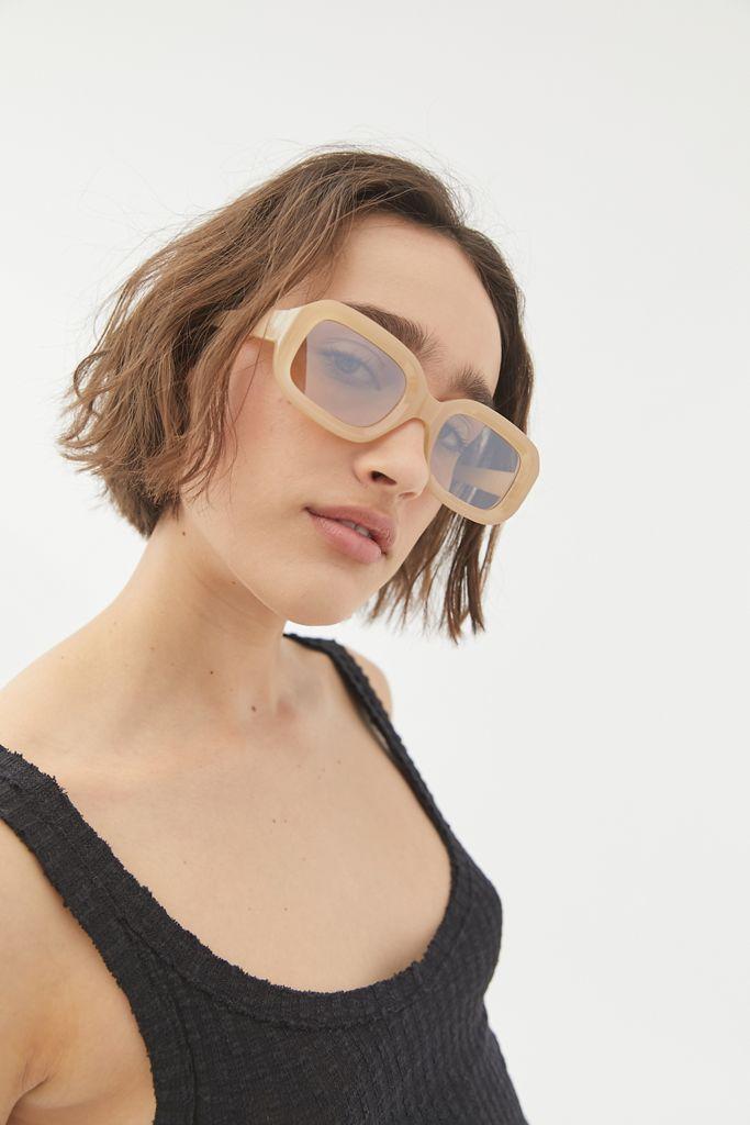 Tan Square Sunglasses
