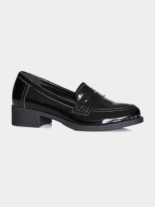 Black loafers from CoEdition.