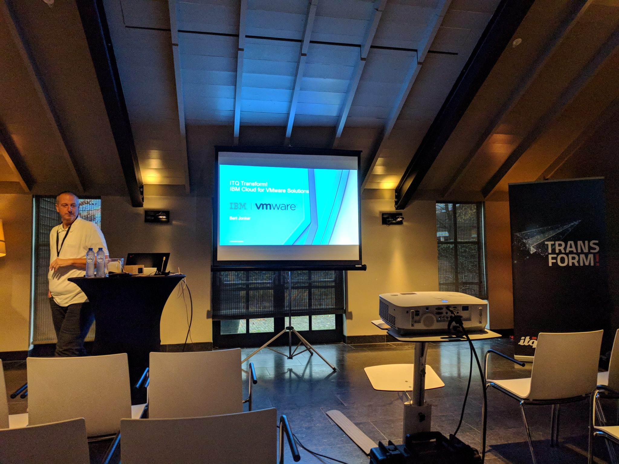 Bert Jonker IBM about IBM Cloud - ITQ Transform