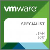 VMware vSAN 2017 Specialist - Badge