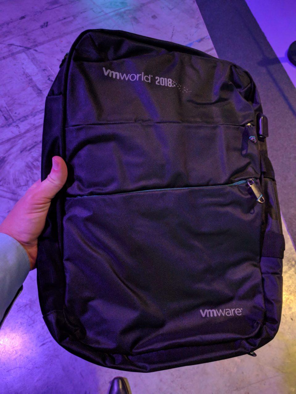 VMworld 2018 EU - Backpack