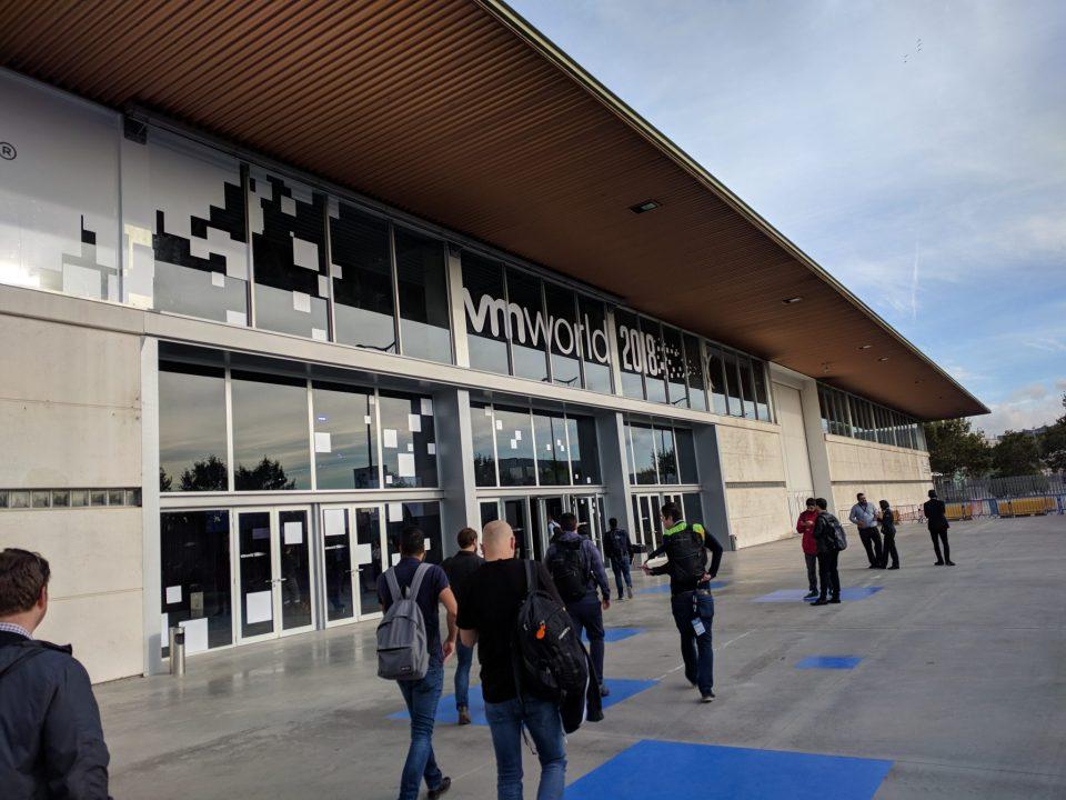 VMworld 2018 EU - Entrance Building