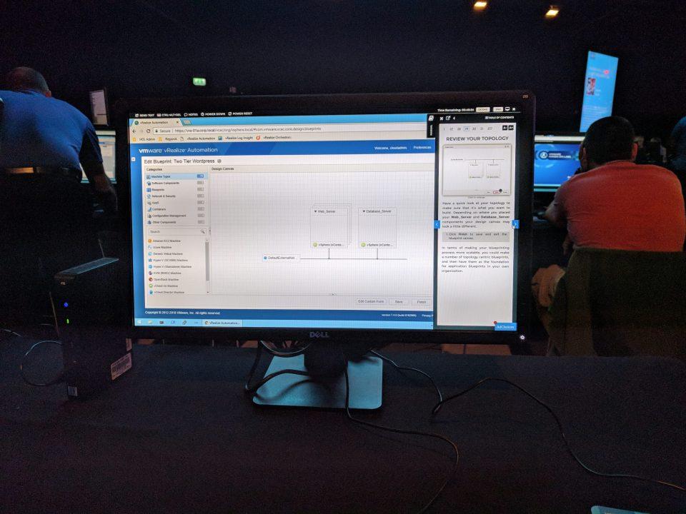 VMworld 2018 EU - HOL Testing