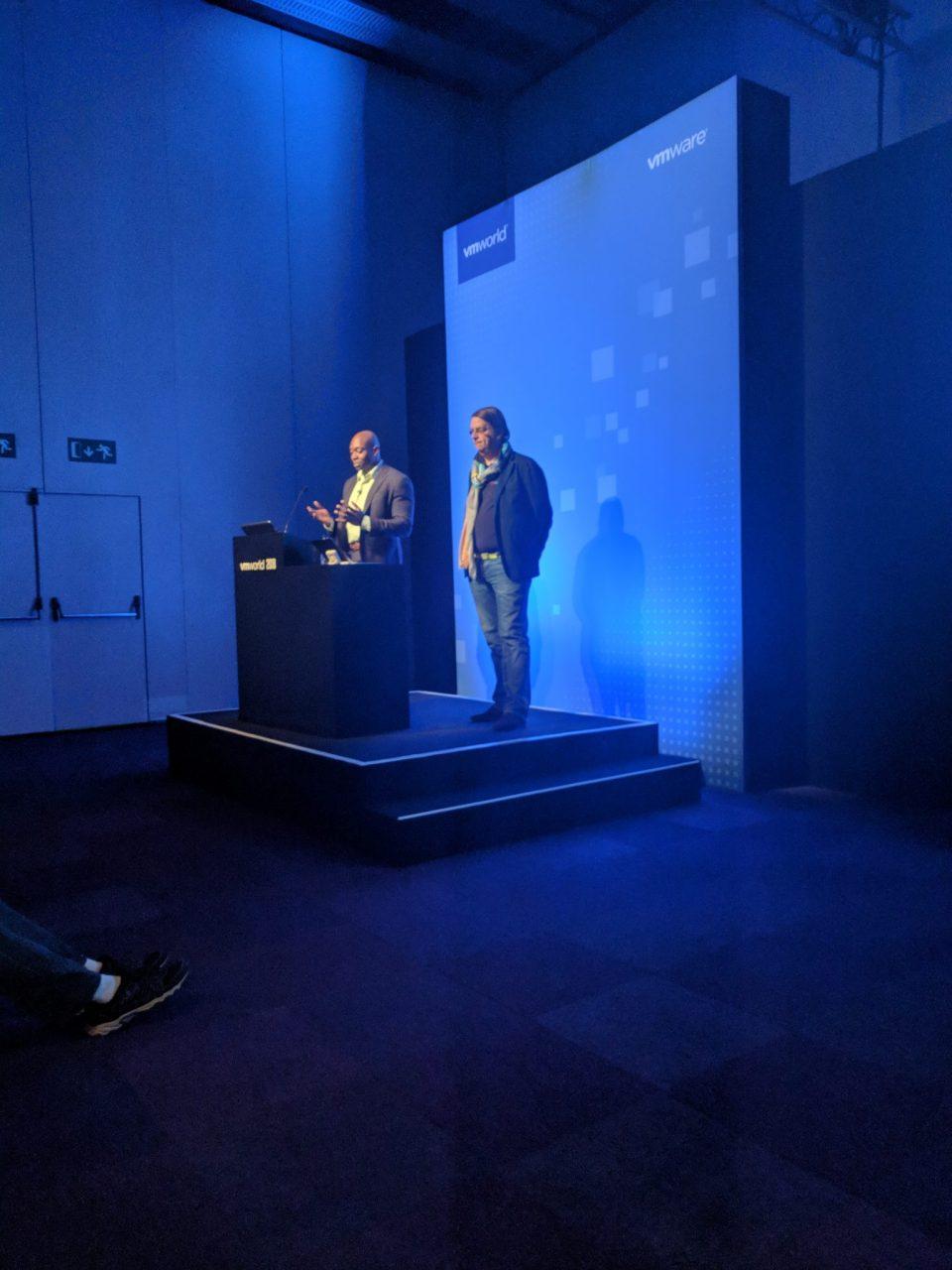 VMworld 2018 EU - Wade Holmes & Yves Sandford VMware Cloud Provider POD