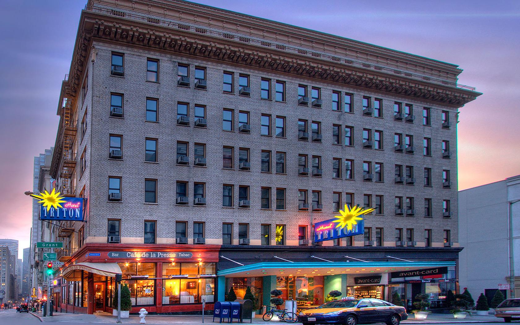 Hotel Triton San Francisco  Celebrity Inspired Hotel Near