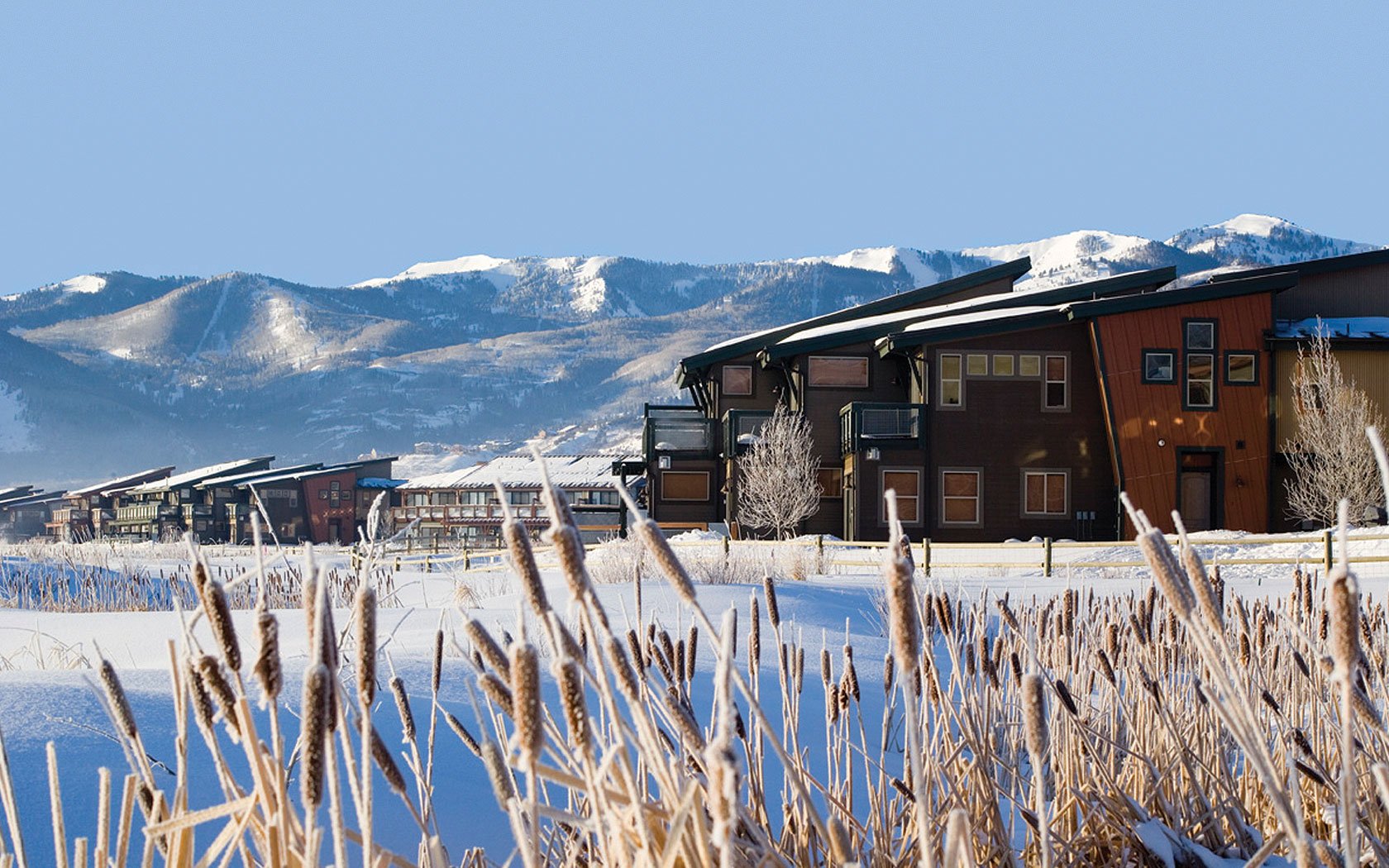 Park Lodge Mountain Location Winter