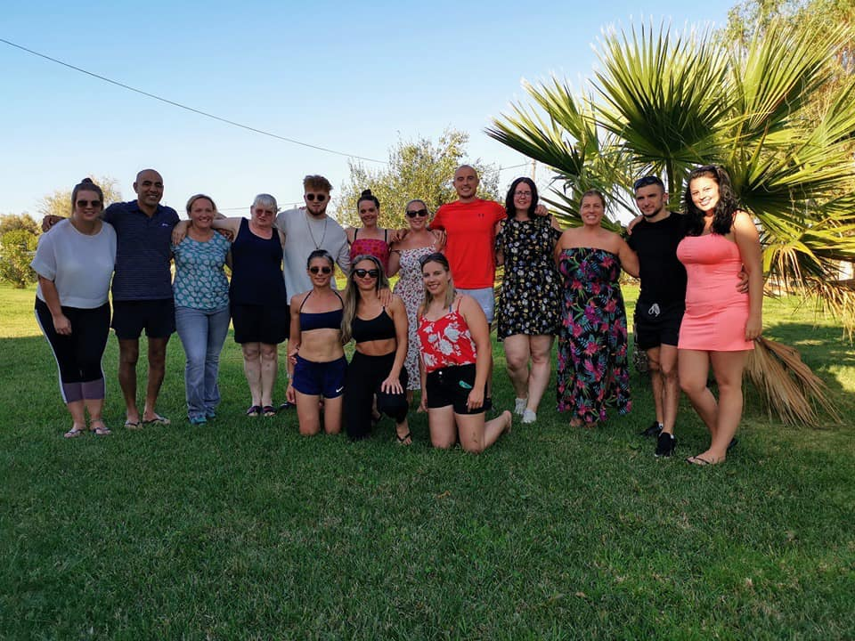 Photo of all the guests and organisers of the 2019 Corfu Retreat