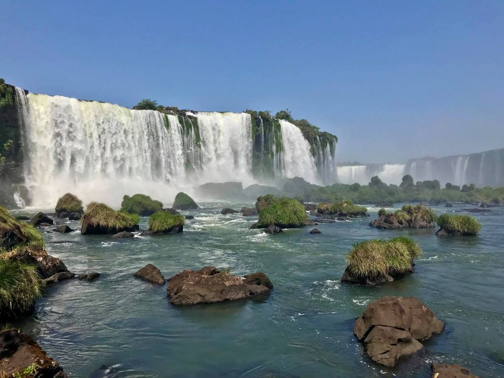 Planning your own travel can be hugely satisfying, this is a photo of Iguazu Falls, the first proper adventure I ever booked on my own