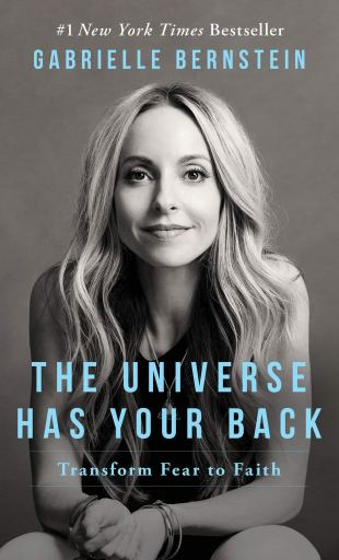 Book cover the Universe has your back