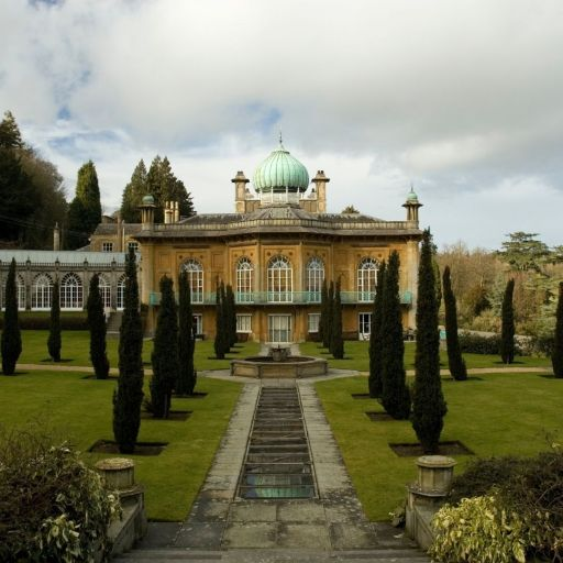 The beautiful Sezincote Manor with its hindu muslim architectural influences