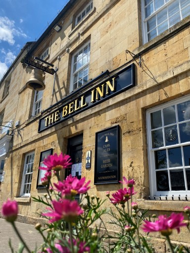 The Bell Inn Moreton, said to be the inspiration for Tolkien, from Lord of the Rings