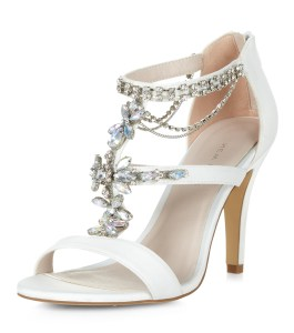 Jewelled T-Bar sandal New Look