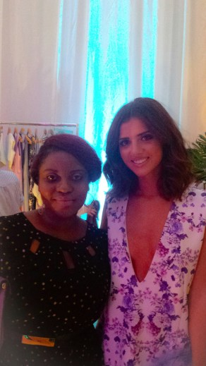 Moi with the lovely Lucy Mecklenburg