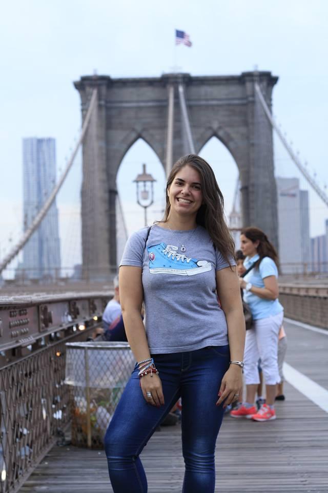 Bea Casal M, puente de Brooklyn