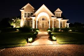 outdoor lighting for path and entryway