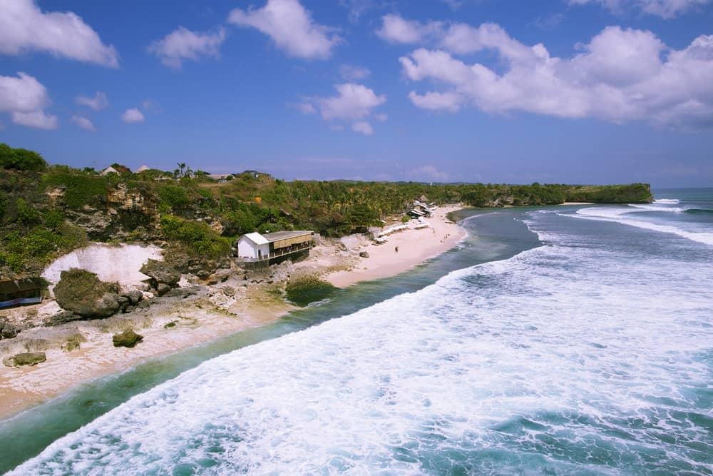 Beach weather in Balangan Beach. Bali. Indonesia in August