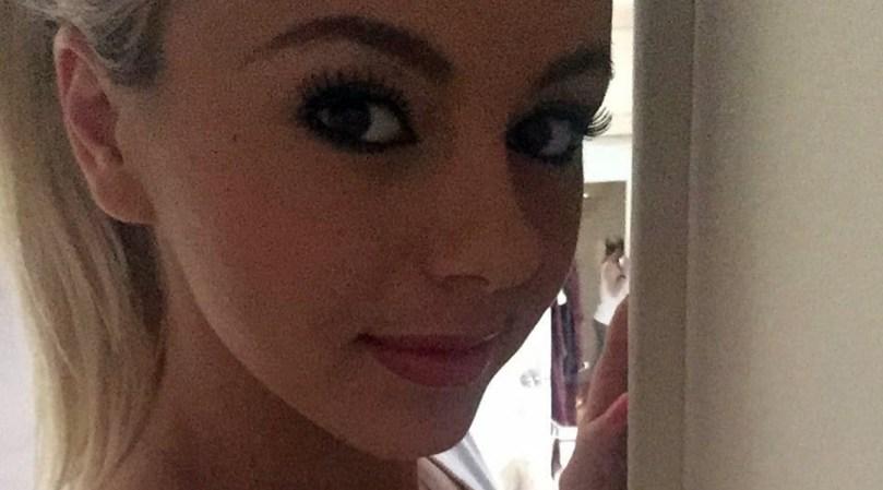 Closeup of Bree Olson