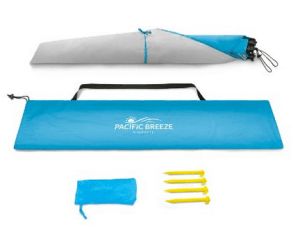 pacific breeze beach tent review